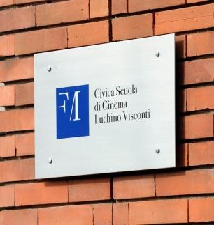 Civica Scuola di Cinema_targa_